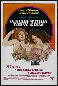 Desires Within Young Girls - 43 x 62 Movie Poster - Bus Shelter Style A
