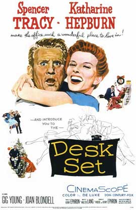 Desk Set - 11 x 17 Movie Poster - Style A