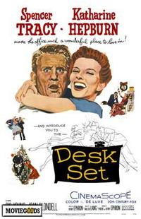 Desk Set - 43 x 62 Movie Poster - Bus Shelter Style A