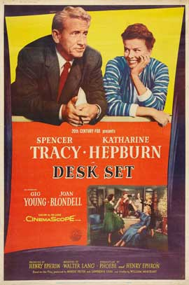 Desk Set - 11 x 17 Movie Poster - Style B