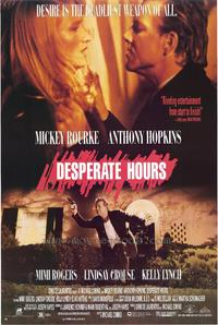 Desperate Hours - 11 x 17 Movie Poster - Style A
