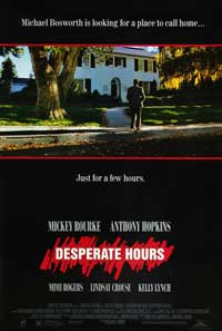 Desperate Hours - 11 x 17 Movie Poster - Style B