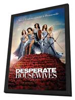 Desperate Housewives - 27 x 40 TV Poster - Style A - in Deluxe Wood Frame