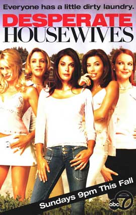 Desperate Housewives - 11 x 17 TV Poster - Style A