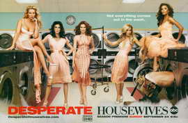 Desperate Housewives - 11 x 17 TV Poster - Style O