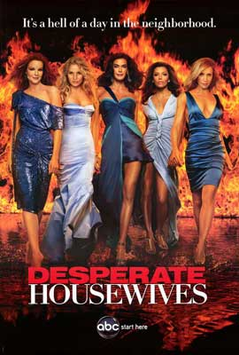Desperate Housewives - 27 x 40 TV Poster - Style E