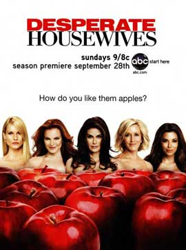 Desperate Housewives - 27 x 40 Movie Poster - Style F