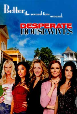 Desperate Housewives - 27 x 40 Movie Poster - Style H