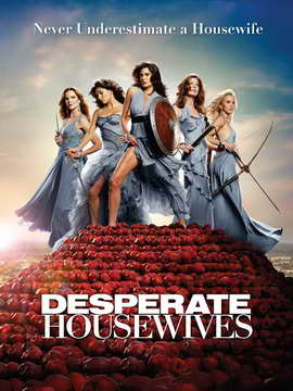 Desperate Housewives - 11 x 17 TV Poster - Style W