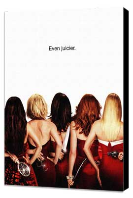 Desperate Housewives - 11 x 17 TV Poster - Style T - Museum Wrapped Canvas