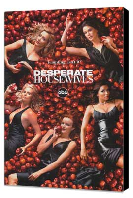 Desperate Housewives - 27 x 40 TV Poster - Style B - Museum Wrapped Canvas