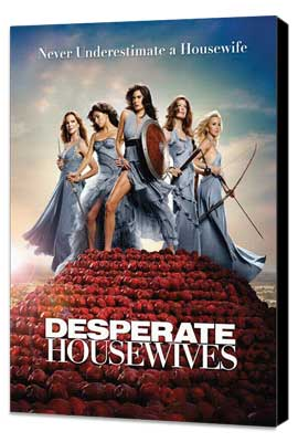 Desperate Housewives - 27 x 40 TV Poster - Style A - Museum Wrapped Canvas