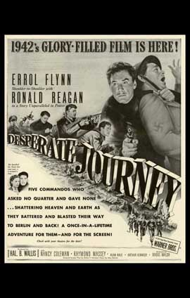 Desperate Journey - 11 x 17 Movie Poster - Style A