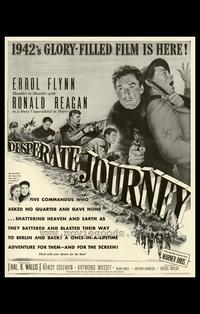 Desperate Journey - 27 x 40 Movie Poster - Style A