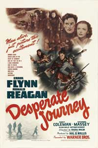 Desperate Journey - 27 x 40 Movie Poster - Style B