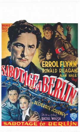Desperate Journey - 14 x 22 Movie Poster - Belgian Style A