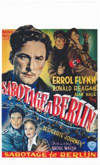 Desperate Journey - 11 x 17 Movie Poster - Belgian Style A