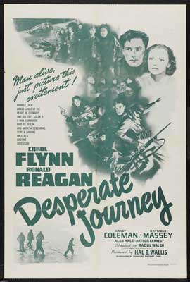 Desperate Journey - 27 x 40 Movie Poster - Style C