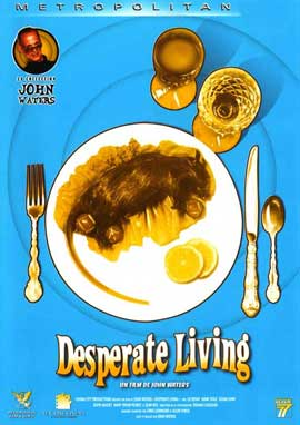 Desperate Living - 11 x 17 Movie Poster - French Style A