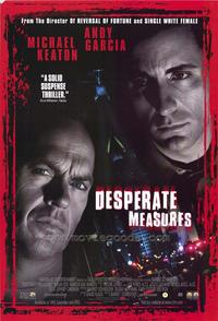 Desperate Measures - 27 x 40 Movie Poster - Style B