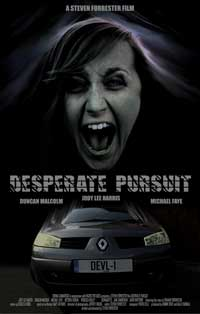 Desperate Pursuit - 11 x 17 Movie Poster - Style A