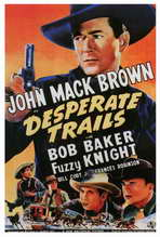 Desperate Trails - 27 x 40 Movie Poster - Style A