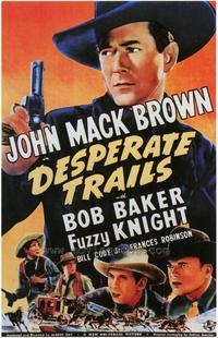 Desperate Trails - 43 x 62 Movie Poster - Bus Shelter Style A