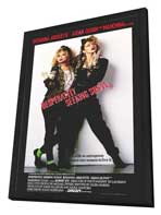 Desperately Seeking Susan - 11 x 17 Movie Poster - Style A - in Deluxe Wood Frame