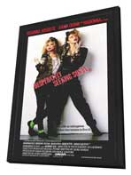 Desperately Seeking Susan - 27 x 40 Movie Poster - Style A - in Deluxe Wood Frame