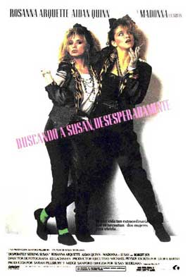 Desperately Seeking Susan - 11 x 17 Movie Poster - Spanish Style B