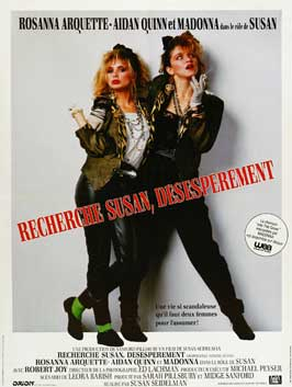 Desperately Seeking Susan - 11 x 17 Movie Poster - French Style A