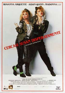 Desperately Seeking Susan - 27 x 40 Movie Poster - Italian Style A