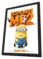 Despicable Me 2 - 11 x 17 Movie Poster - Style C - in Deluxe Wood Frame