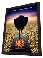 Despicable Me 2 - 11 x 17 Movie Poster - Style D - in Deluxe Wood Frame