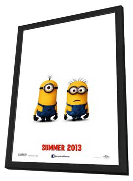 Despicable Me 2 - 11 x 17 Movie Poster - Style A - in Deluxe Wood Frame