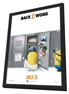Despicable Me 2 - 27 x 40 Movie Poster - Style B - in Deluxe Wood Frame