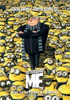 Despicable Me - 11 x 17 Movie Poster - Italian Style B