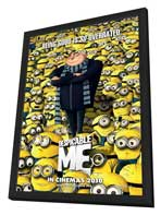 Despicable Me - 11 x 17 Movie Poster - Style A - Double Sided - in Deluxe Wood Frame