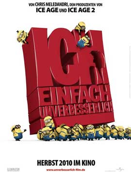 Despicable Me - 11 x 17 Movie Poster - German Style A