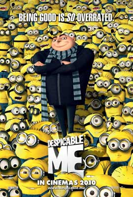 Despicable Me - 11 x 17 Movie Poster - UK Style A
