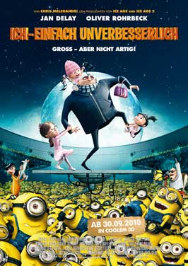 Despicable Me - 27 x 40 Movie Poster - German Style C