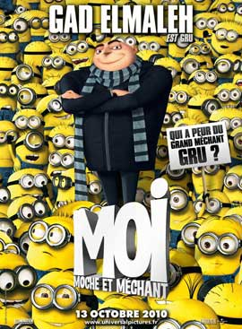 Despicable Me - 11 x 17 Movie Poster - French Style D