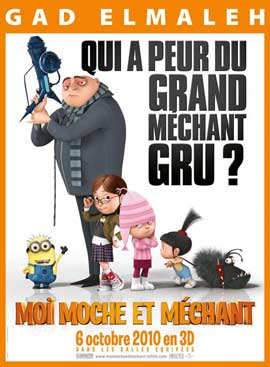 Despicable Me - 11 x 17 Movie Poster - French Style A