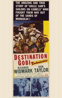 Destination Gobi - 11 x 17 Movie Poster - Style A