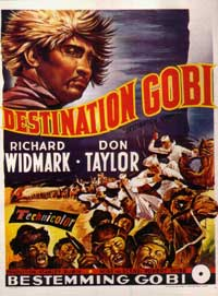 Destination Gobi - 11 x 17 Movie Poster - Belgian Style A
