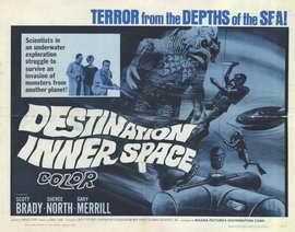 Destination Inner Space - 22 x 28 Movie Poster - Half Sheet Style A
