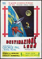 Destination Moon - 11 x 17 Movie Poster - Italian Style A