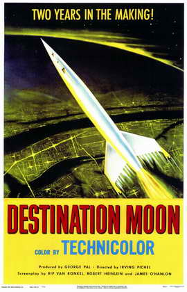 Destination Moon - 11 x 17 Movie Poster - Style A