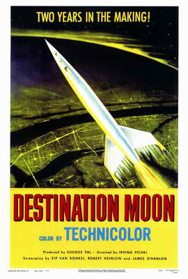 Destination Moon - 27 x 40 Movie Poster - Style A