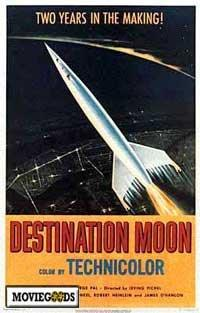 Destination Moon - 43 x 62 Movie Poster - Bus Shelter Style A
